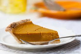 Healthy Light Pumpkin Dessert by Vegan Pumpkin Pie