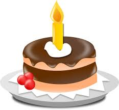 Birthday cake clip art Happy Birthday cake clipart
