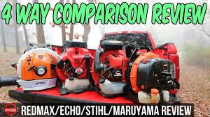 4 Way Lawn Care Blower Comparison