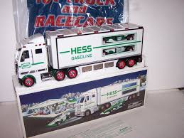 2003 HESS TOY TRUCK WITH TWO RACE CARS; FREE SHIPPING; New In Box ... 1985 Hess Truck Bank 1933 Chevy Fuel Oil Delivery Trucks By Toy Classic Toys Hagerty Articles Colctibles Price List Glasses Bags Signs Used Cars Quincy Il Auto Agency 2014 Hess Truck Space Cruiser 50th Ann Limited Edition New And Helicopter 2006 Shop For Sale In Nj 1964 Marx Box Original Near Mint 2015 Holiday Fire Ladder Rescue Brand New 2011 Flat Bed And Race Car Lights Sounds 2018 Mini Collection Tanker Racer Miniature Mobile Museum Stops In East Rutherford To Celebrate