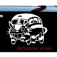 100 Truck Window Stickers Ghibli Totoro Catbus Nekobus Car Decal Sticker