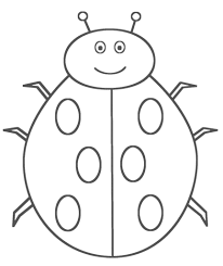 Good Ladybug Coloring Pages 64 In Free Colouring With