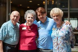 Atria Senior Living photo of Residents and staff celebrate at Atria at the Arboretum s annual