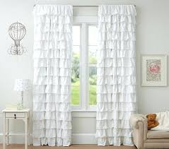 Purple Ruffle Blackout Curtains by White Ruffle Blackout Curtains 96 White Ruffle Curtains Blackout