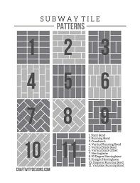 exciting subway tile patterns for shower images design ideas tikspor