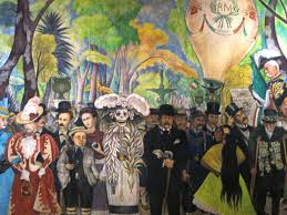 Diego Rivera Rockefeller Mural by Visiting The Art Of The Mexican Muralists Bendgold U0027s Blog