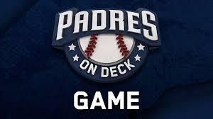 Padres Deck Game