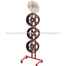 China Tires Metal Display Stand