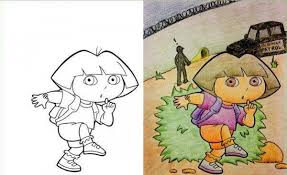 Brilliantly Corrupted Coloring Books To Help Ruin Your Childhood 24 Photos 5
