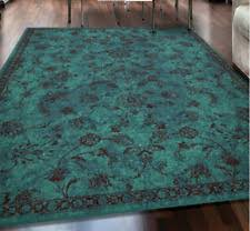 Teal Living Room Rug by Teal Area Rugs Indoor Brown Teal Area Rug Anne Collection