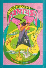 Pappy Pumpkin Patch Tyler Texas by C86 Walt Disney U0027s Fantasia Re Release Poster 1969 U2013 Glamrock