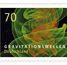 Neue Briefmarke Ab 7 Dezember 2017 Gravitationswellen verschicken