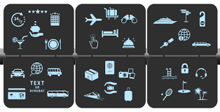 Choose Out Of 35 Travel Symbols Adjust Texts Create Your Slogan Or Showcase Services