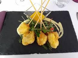 cuisine de la lotte tempura de lotte picture of l aubergine montpellier tripadvisor