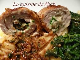 cuisiner noix de veau ballottines de veau au roquefort et noix la cuisine de mich