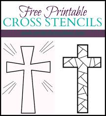 Free Printable Cross Stencils