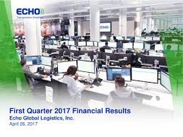 Echo Global Logistics, Inc. 2017 Q1 - Results - Earnings Call ... Greencarrier Liner Agency Back In Fish Business With Echo Global Logistics Inc 2017 Q1 Results Earnings Call Company Profile Trade Todays Top Supply Chain And News From Wsj Character Design Final Lines Still Trucking What To Expect 2018 For The Transportation Industry Afp Sunday On I80 Wyoming Pt 6 Office Space Agile Development Cio Freight Brokerage Overview Tight Trucking Market Has Retailers Manufacturers Paying Steep Why Tesla Wants A Piece Of Commercial Fortune Dont Make Me Drive That Cabover Youtube