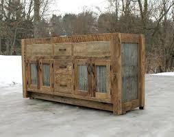 Reclaimed Wood Kitchen Cabinets Salvaged Custom Islands Barn