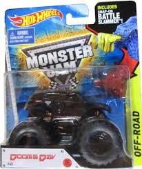 Hot Wheels Off-Road Monster Jam Dooms Day #40 With Battle Slammer ... Hot Wheels Monster Jam Megalodon Vehicle 124 El Toro Loco Diecast Walmartcom List Of 2018 Trucks Wiki The Toy Museum Superman Batmobile Series Fandom Powered By Wikia Super Fun Blog Team Firestorm Wheels Monster Jam Batman Trucks 164 Scale Amazoncom Giant Grave Digger Truck Mattel Scbydoo At Mighty Ape Australia