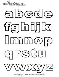 Alphabet Coloring Page Alphabet Coloring Page Printable Kid Stuff
