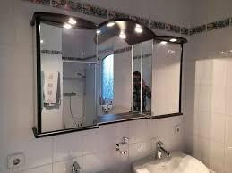 duscholux hängeschrank schwarz badezimmer inkl beleuchtung