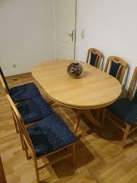 esszimmer tisch stuhl garnitur set komplett mit 6 stühle