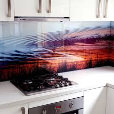 Coloured Glass Kitchen Cooker Splashbacks