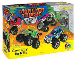 Creativity For Kids 1166000 Monster Trucks Custom Shop [CFK1166000 ... Monster Truck Stunt Videos For Kids Trucks Big Mcqueen Children Video Youtube Learn Colors With For Super Tv Omurtlak2 Easy Monster Truck Games Kids Amazoncom Watch Prime Rock Tshirt Boys Menstd Teedep Numbers And Coloring Pages Free Printable Confidential Reliable Download 2432 Videos Archives Cars Bikes Engines