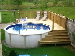 Interior Above Ground Pool With Deck For Sale Popular Decks In 26 From