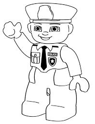 Lego Police Person