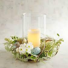 Hurricane Candle Holder For Spring Easter