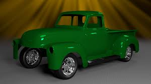 The Tinkers Workshop: 1951 Chevy Blender 3D Pickup Progress