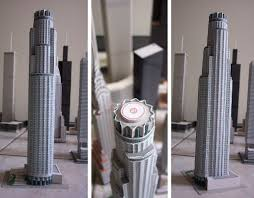 model of us bank building los angeles architecture pinterest