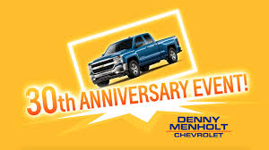 30th Anniversary Event At Your Chevrolet Montana Dealer