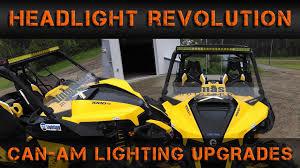 can am maverick 1000xmr lighting overhaul headlight revolution