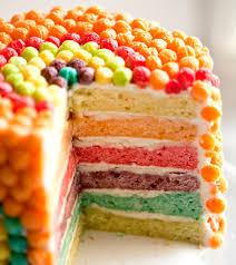 Trix Cereal Crunch Cake Recipe