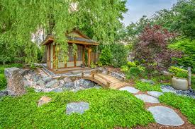 100 Backyard Tea House A Calming Oasis
