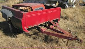 Truck Bed Trailer | Item 3660 | SOLD! February 2 Oklahoma/Te...