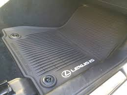 Lexus All Weather Floor Mats Es350 by Lexus Is 250 All Weather Floor Mats Ourcozycatcottage Com