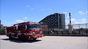 100 Fire Truck Sirens Boston Department 39 Responding With Lights And Siren
