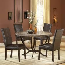 Hillsdale Furniture Monaco Matte Espresso Dining Set With Round Table