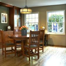 Craftsman Lighting Dining Room A Home Gets Makeover In Mission
