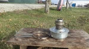 Aladdin Caboose Lamp Bracket by Aladdin 23 Railroad Caboose Oil Kerosene Lamp W Spring Loaded