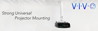 Epson Universal Projector Ceiling Mount Manual by Amazon Com Vivo Universal Extending White Ceiling Projector Mount