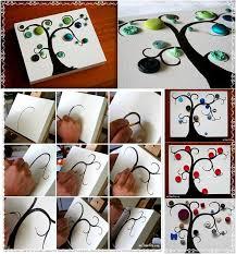 DIY Button Tree Tutorial Diy Fun Crafts For Kids