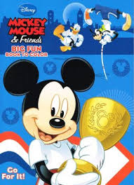 Mickey Mouse Clubhouse Coloring Book
