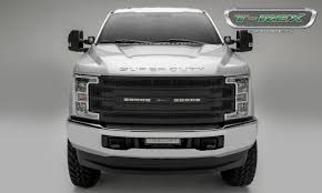 Bold New 2017 Ford Super Duty Grilles Now Available From T-Rex Truck ...