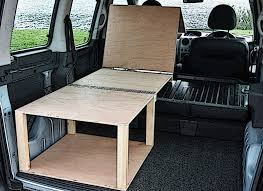 Citroen Berlingo Peugeot Partner Camper Van Conversion Module