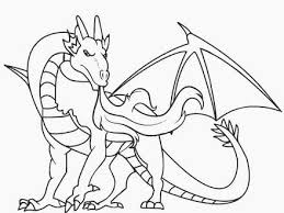 Pin Dragons Coloring Pages For Kids Dragon