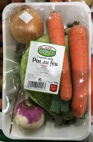 légumes pour pot au feu ferme de la gohelle 1 kg